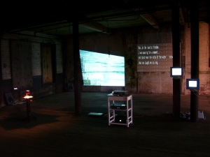 Dan Warner, video projection